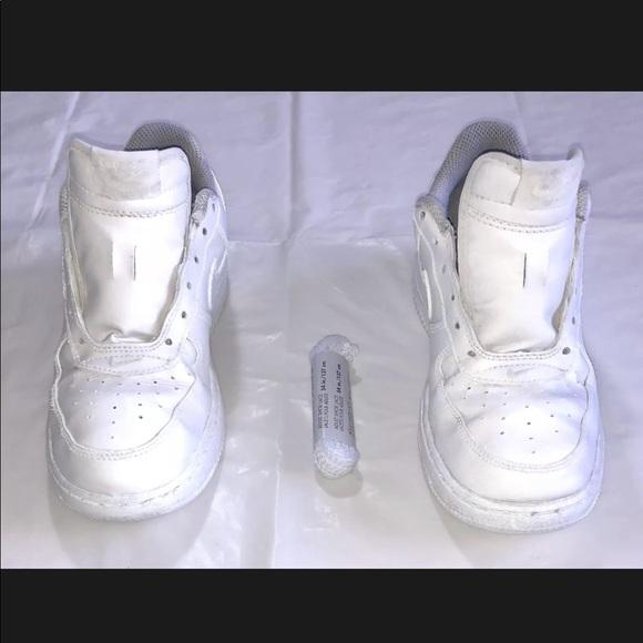 sale retailer 13e15 04ad2 WHITE Nike Air Force 1 Low Kids Shoes SZ 2.5Y